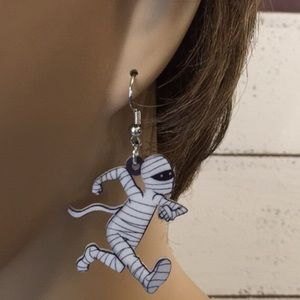 Jewelry - Mummy Acrylic Earrings